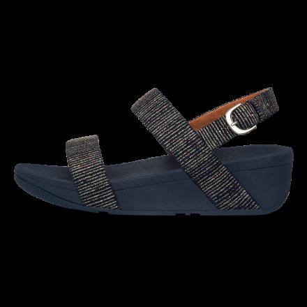 FITFLOP Lottie Glitter Sandal Navy