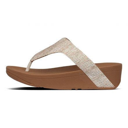 FITFLOP Lottie Glitter Slipper Beige