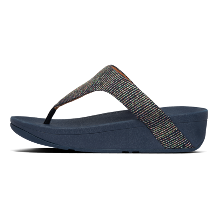 FITFLOP Lottie Glitter Slipper Navy