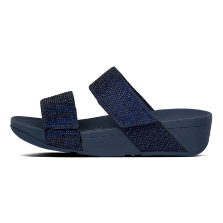 FITFLOP Mina Crystal Slide Navy