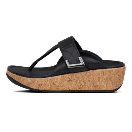 FITFLOP Remi Slipper Leather Black