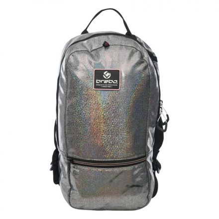 BRABO Backpack Sparkle Zilver
