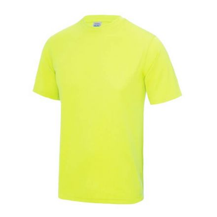 Sportshirt Fluor Geel Junior