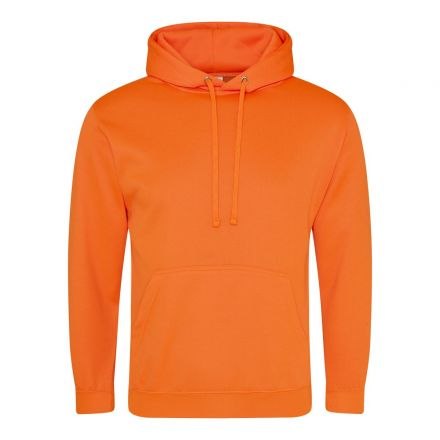 Hoodie Fluor Oranje Junior