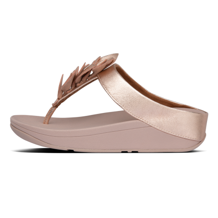 FITFLOP Fino Slipper Leather Rose