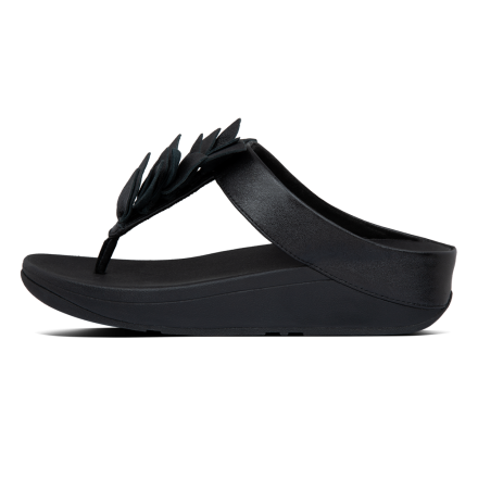 FITFLOP Fino Slipper Leather Black