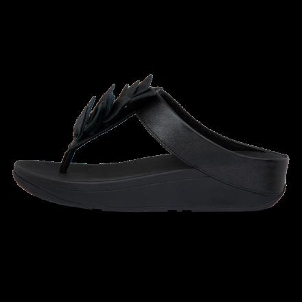 FITFLOP Fino Slipper Leather Black