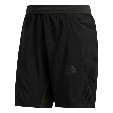 ADIDAS Aero 3-Striped Short Zwart