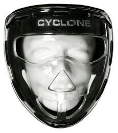 CYCLONE Facemask Transparant
