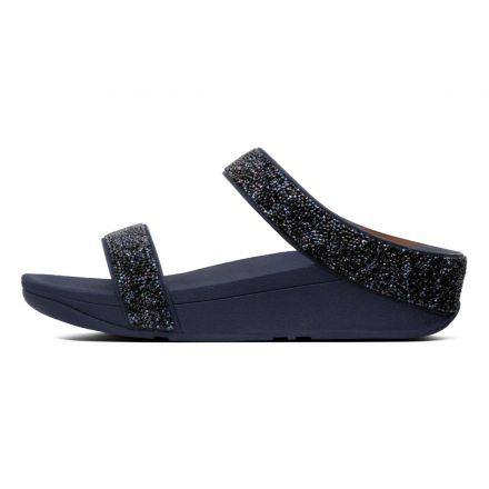 FITFLOP Fino Quartz Slide Navy