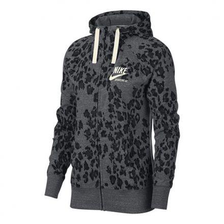 NIKE Sportswear Hoodie Leopard