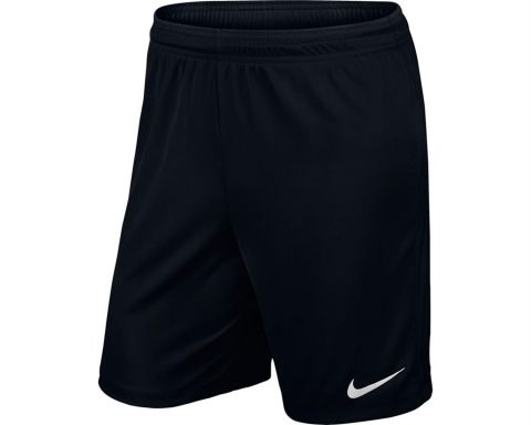 NIKE Park Knit II Short Kids Zwart
