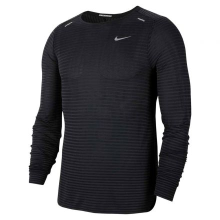 NIKE Technit Ultra LS Shirt Zwart