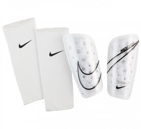 NIKE Mercurial Lite Shinguard Wit