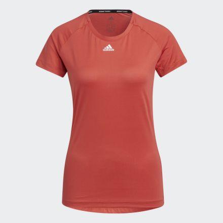 ADIDAS Performance T-Shirt Rood