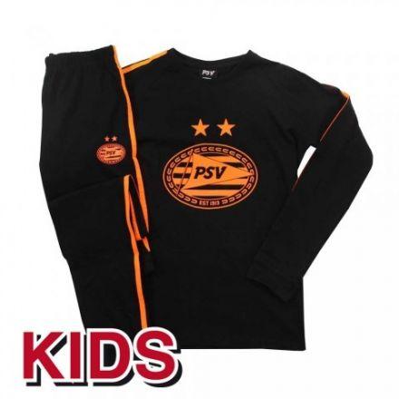 PSV Pyjama Oranje/Zwart
