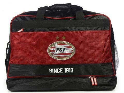 PSV Sporttas Since 1913 Rood/Zwart