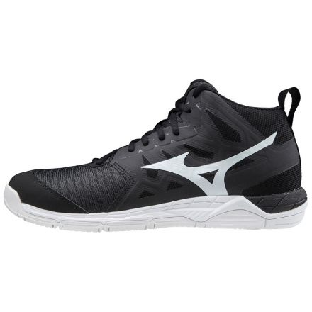 MIZUNO Wave Supersonic 2 Mid Zwart