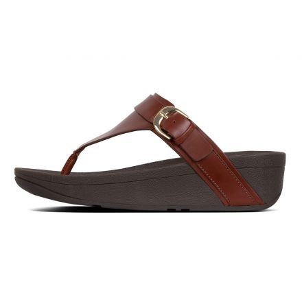 FITFLOP Edit Toe Post Cognac