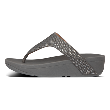 FITFLOP Lottie Shimmer Slipper Grijs
