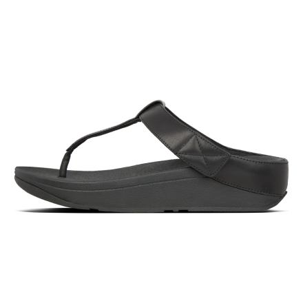 FITFLOP Mina Slipper Leather Black